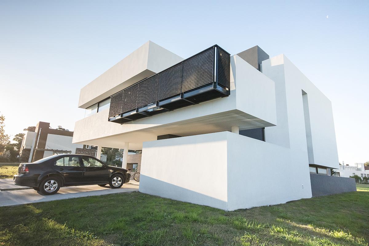 Vista General de Casa Modular