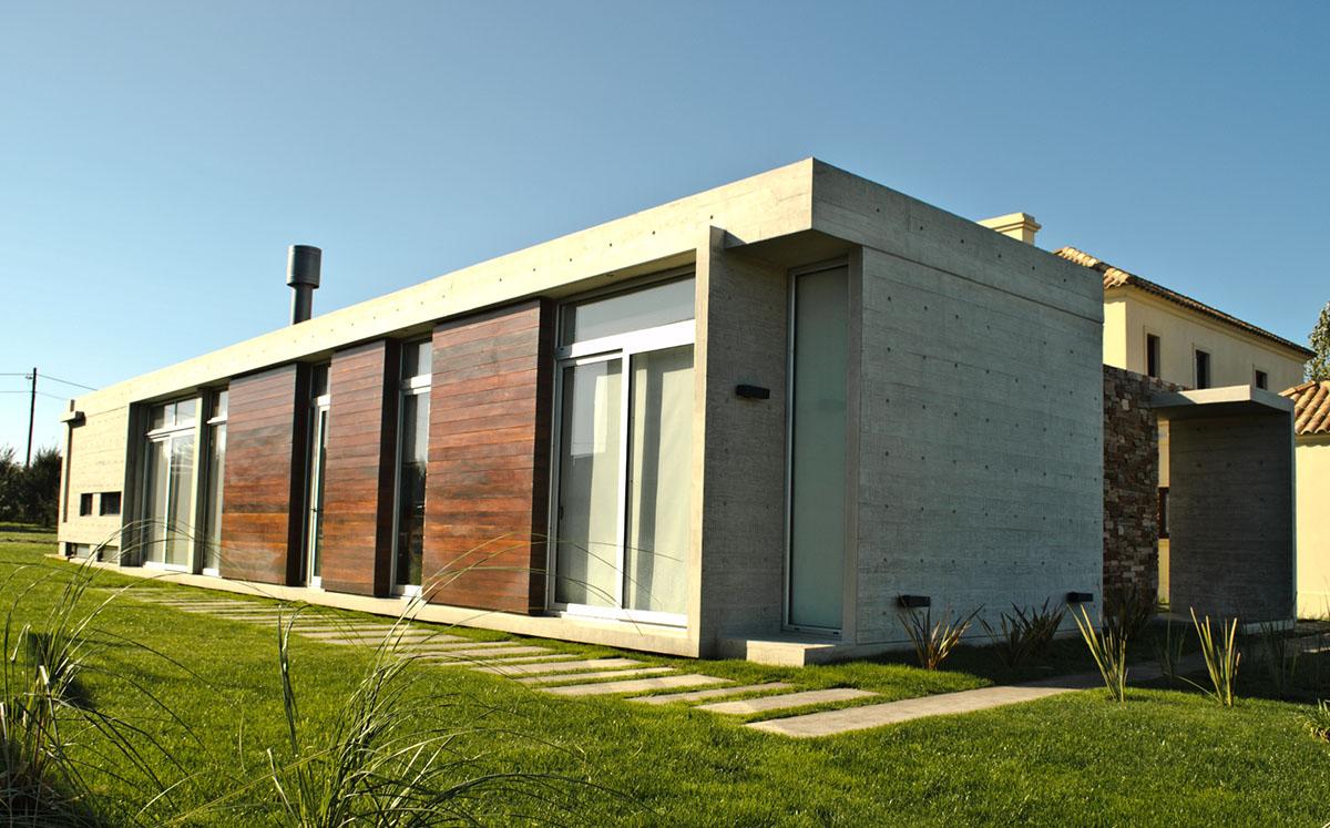 Casa V vivienda unifamiliar construida por Mestra