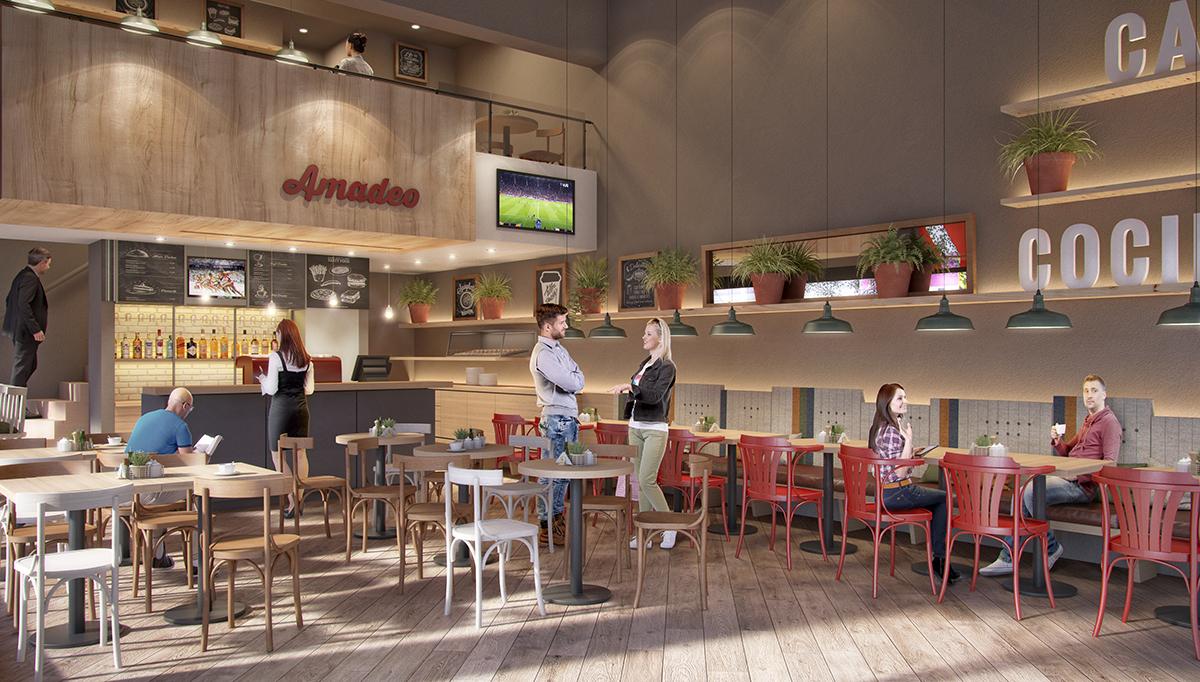 Imagen Interior de Amadeo Café y Cocina