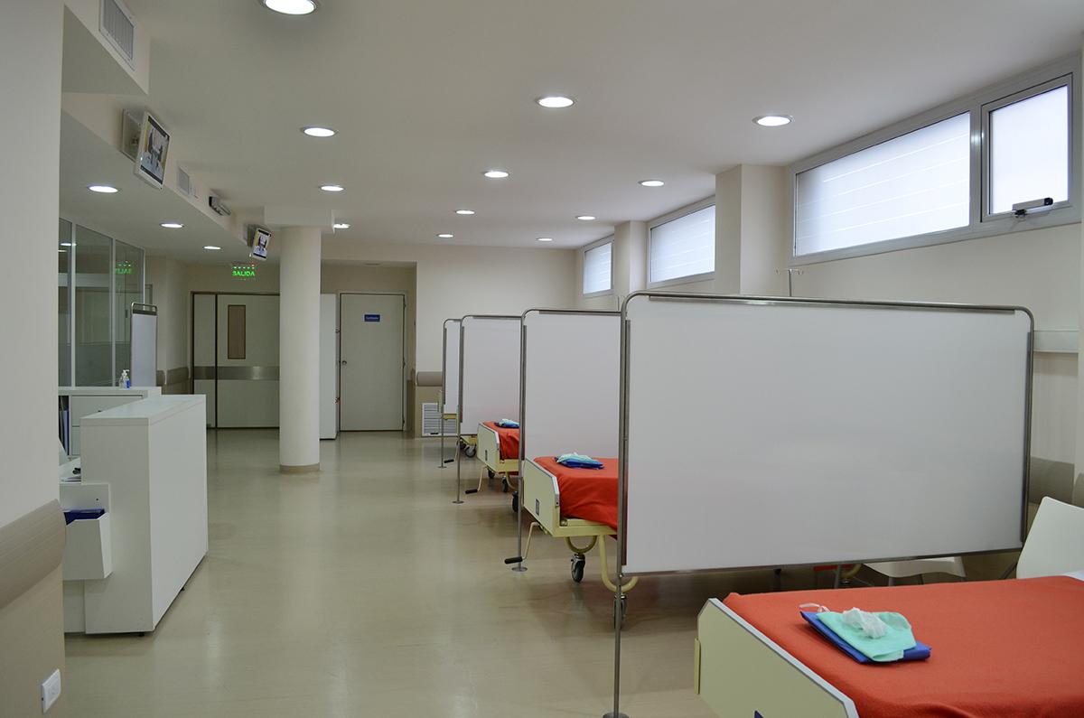Sala de internación - Ambulatorio Clínica del Niño y la Madre