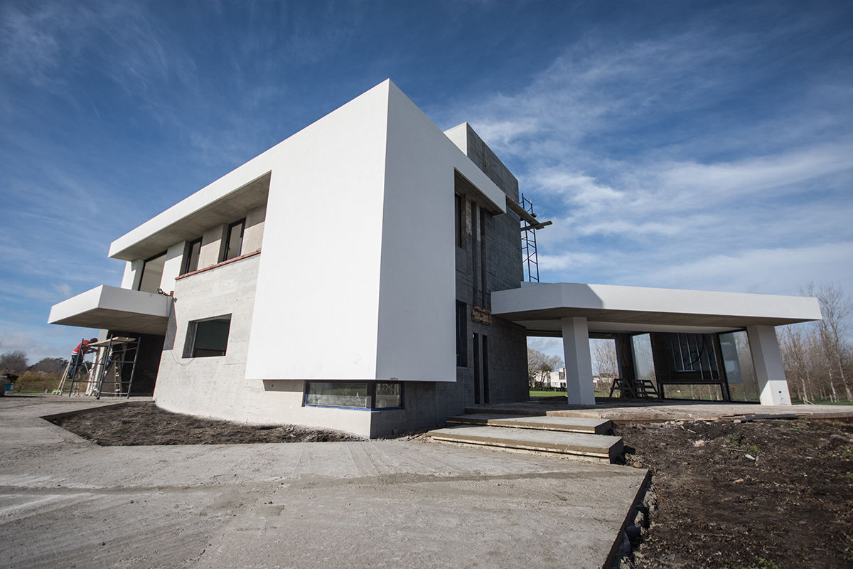 Vista General - Acceso Casa Coco